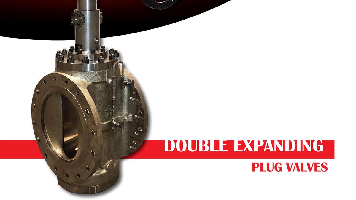 Double expanding plug